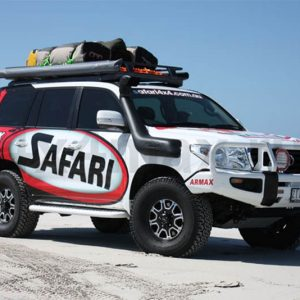 Шноркель Safari V-SPEC Toyota Land Cruiser 200 2008+ моторы 4.7 L и 4.5L